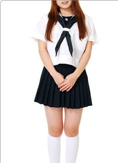 Black and White Ruffled Cotton Lolita Dress