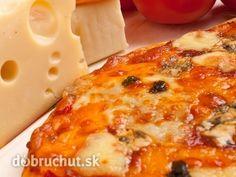 Pizza - štyri druhy syra