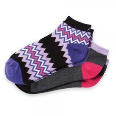 f00667fce92 KOI Socks Two Packs Grape Cute Koi Ankle Socks Two-Pack in pretty purples.