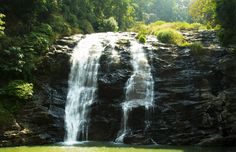 Abbi Falls in Coorg, India.