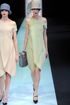 Emporio Armani Fall 2013 Ready-to-Wear Fashion Show - Luca Adamik