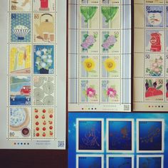 郵便局ってズルい! こんなかわいい切手なんか販売しちゃって… 手紙とか出す予定ないのに買ってしまうや〜ん( ๑`³´)۶ - @asacafe- #webstagram