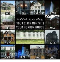 Horror Books, Horror Films, Scary Stories, Horror Stories, Haunted Objects, Creepy Facts, Creepy Pictures, Horror House, Birth Month