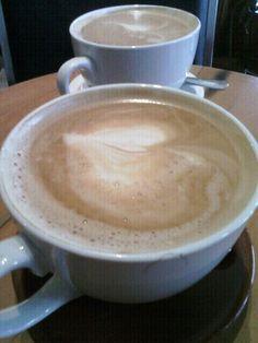 #Coffee latte.