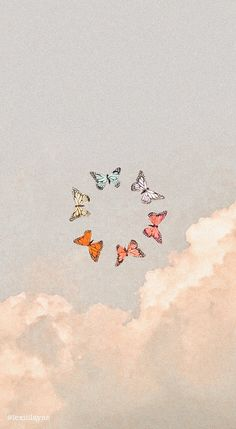 ✭ edited by Butterfly Wallpaper Iphone, Iphone Wallpaper Vsco, Iphone Wallpaper Tumblr Aesthetic, Homescreen Wallpaper, Iphone Background Wallpaper, Aesthetic Pastel Wallpaper, Tumblr Wallpaper, Aesthetic Wallpapers, Wallpaper Quotes
