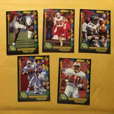 Cool item: Wild Card Football Cards lot of (50)