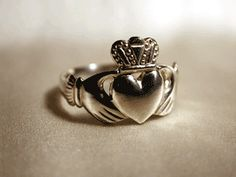 The Original Royal Claddagh Ring from Ireland - Dublin Castle Hallmarked