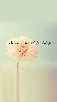 No one is too old for fairytales. Tap to see more Cute Spring/Summer iPhone wallpapers. @mobile9