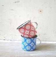 Enamel mugs 8cm