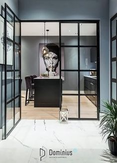 DelightFULL,The most amazing and stylish houses and apartments, interior designer's works. Contemporary home decor… and lighting ideas. Dazzling Design Projects f. Contemporary Interior Design, Decor Interior Design, Interior Decorating, Contemporary Houses, Color Interior, Simple Interior, Interior Sketch, Studio Interior, Interior Plants