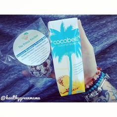 Snacks for car ride down the coast !! Its important to stay well hydrated on this extreme heat we are having today so what better to do so than some delish #cocobella pineapple #coconutwater and a super yummy @theprimalkitchen Coconut blueberry protein ball is the perfect snack companion !!✌ #snacktime #fitfam #fitfood #fitspo #nourish #cartrips #coasttime #nutrition #fitspiration #vegan #veganeats #veganfood #healthspo #health #eatclean #wellness #cleaneating