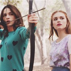 Teen wolf, Allison Argent and Lydia Martin