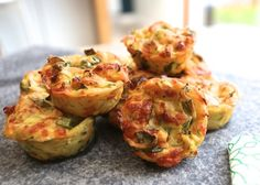 Vegetable Muffins finished