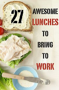 Awesome Easy Lunches To Bring To Work 27 Awesome Easy Lunches To Bring To Work. Brilliant- especially for work spaces without a Awesome Easy Lunches To Bring To Work. Brilliant- especially for work spaces without a microwave! Lunch Snacks, Lunch Recipes, Healthy Snacks, Healthy Eating, Cooking Recipes, Healthy Recipes, Healthy Cold Lunches, Cooking Tips, Lunch Foods