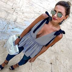 Vacation Outfits: of the Best Trending Summer Styles - Damen Mode Frühling / Spring Outfits , Trendy Summer Outfits, Summer Fashion Trends, Spring Outfits, Casual Outfits, Cute Outfits, Summer Dresses, Maxi Dresses, Look Fashion, Fashion News