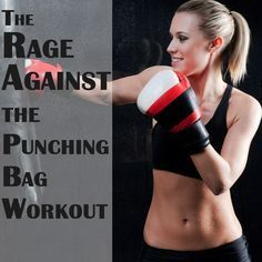 A beginner boxing/ punching bag workout to get toned, from the Cody App blog. #workout #fitness #codyapp