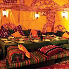 bedouin tent is my new inspiration.