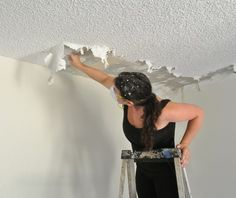 kate popcorn ceiling