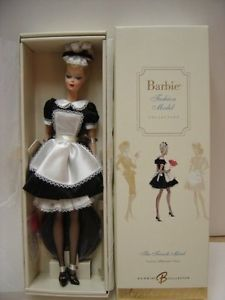 NEW-Gold-Label-BFMC-Silkstone-The-French-Maid-Barbie