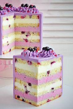 Elegant Desserts, Wedding Desserts, Cake Decorating Techniques, Cake Decorating Tips, Cake Albums, British Cake, Russian Cakes, Waffle Cake, Cake Craft