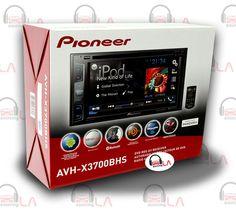 """PIONEER AVH-X3700BHS 6.1"""" TV DVD USB MP3 CAR STEREO BLUETOOTH HD XM IPOD RADIO #Pioneer"""