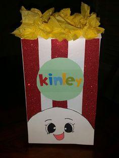 Shopkins Poppy Corn Valentine Box