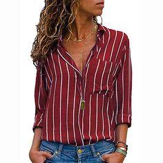98548faf8cca24 Clearance Sale  S-2XL  ODRDღ Damen T-Shirt Frauen Langarmshirts Tops Mode