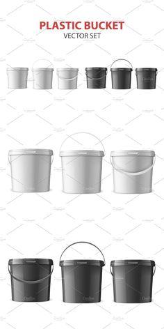 Plastic Buckets, Container Design, Creative