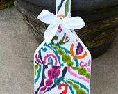 Vera Bradley Inspired Sparkly Paisley Patterned Paddle https://www.etsy.com/shop/KraftsbyKristie?ref=pr_shop_more