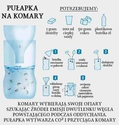 Pułapka na komary Diy Crafts Hacks, Diy And Crafts, Herb Garden Pallet, Simple Life Hacks, Diy Cleaners, Stuff And Thangs, Always Learning, Creative Home, Good Advice