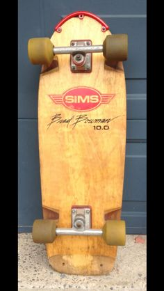 Sims Brad Bowman, Independent trucks, Sims Snakes wheels