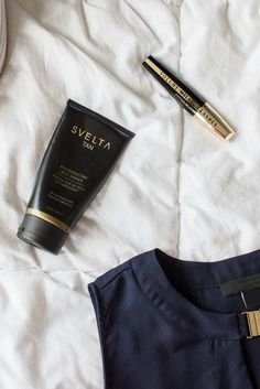 The best finishing touch to an outfit is a great faux tan. #svelta #sveltatan #outfit #summer #shoes #shirt #selftanner #tanning #bronze #tan #fauxtan