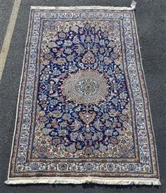 "Indo-Tabriz rug, 5' x 8'6"" Available in our December 13th Catalog   #indotabrizrug #rugs #rug #runners #indotabriz"