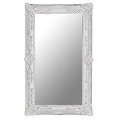 Large Ornate Rectangular Blanc Mirror http://www.la-maison-chic.co.uk/Item/Large_Ornate_Rectangular_Blanc_Mirror