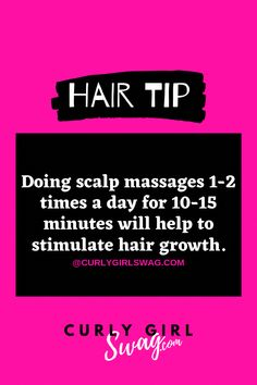 Visit ������ curlygirlswag.com ������ For more hair tips & inspiration������  #curlyhairtips#naturalhaircare#naturalhairtips #MorningBeautyRoutine Curly Hair Tips, Natural Hair Tips, Natural Hair Styles, Argan Oil For Hair Loss, Hair Loss Shampoo, Diy Hair Loss Treatment, Best Hair Oil, Hair Loss Cure, Healthy Hair Tips