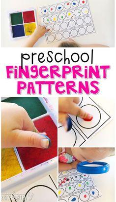 Preschool: All About Me - Mrs. Plemons' Kindergarten