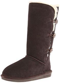 BEARPAW Womens Knit Tall Snow Boot US // 38 EUR, Gray Ii 7 B M