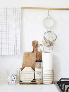 Kitchen Additions: A Mini Tour. http://www.katelavie.com/2016/10/kitchen-additions-mini-tour.html