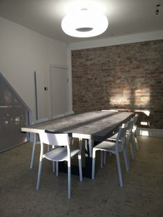 Gallery Bespoke Polished Concrete Tables by daniel.