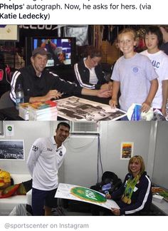 Ten years after Katie Ledecky famously got Michael Phelps' autograph, the Olympic swimming greats re-created their photo for TODAY. Katie Ledecky, Olympic Swimming, Olympic Gymnastics, Olympic Sports, Olympic Games, Michael Phelps, Swimming Funny, Swimming Memes, Nbc Olympics