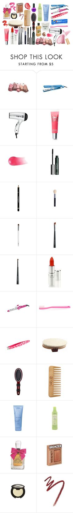 """""""The Clique's Daily Makeup Routine"""" by katie225 ❤ liked on Polyvore featuring Mary Kay, Bed Head by TIGI, T3, Victoria's Secret, Jane Iredale, The Body Shop, Givenchy, Clinique, Chantecaille and Paul Smith"""