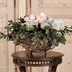 Antique Accessories | Antique Urns/Jardinieres | Antique French Bronze Jardiner | www.inessa.com
