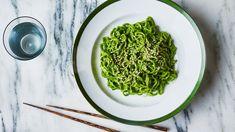 Ramen Noodles with Miso Pesto Recipe | Bon Appetit