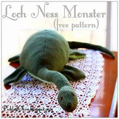 FREE Loch Ness Monster Pattern