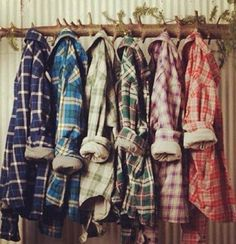 Cozy Flannels!! ugh love fall and my flannel! :)