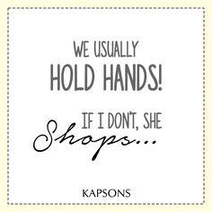P.S-During the visit to Kapsons... #Kapsons #FashionIsHerFirstLove