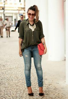 Small Fashion Diary: verde militar