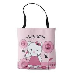 #Little Kitty Tote Bag - #giftideas for #kids #babies #children #gifts #giftidea