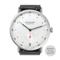 The NOMOS Glachutte Metro 38 Datum is the perfect watch for the young  urbanite. The Metro flawlessly intigrates Bauhaus and modern design for a  youthfully ... 35ba3fbf5d