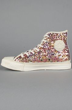 Converse The Premium Chuck Taylor Glitz Sneaker in Multi and Off White  THESE R VERY SPARKLY 51cb9669e685